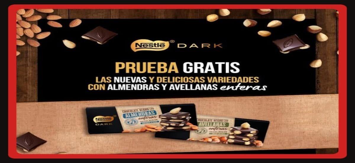 Consigue Reembolsos Para El Nuevo Nestle Dark De Almendra Y Avellanas